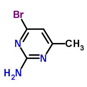 4-bromo-6-methyl-pyrimidin-2-amine [5734-71-4]