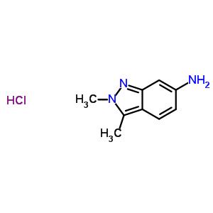 635702-60-2 2,3-dimethylindazol-6-amine hydrochloride