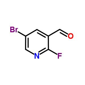 5-bromo-2-fluoro-pyridine-3-carbaldehyde