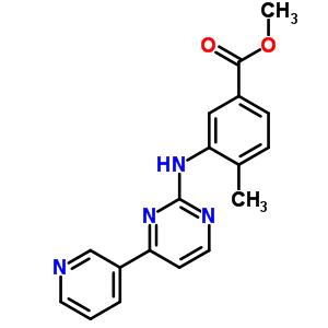 917392-54-2 methyl 4-methyl-3-[[4-(3-pyridyl)pyrimidin-2-yl]amino]benzoate