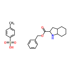 94062-52-9 benzyl 2,3,3a,4,5,6,7,7a-octahydro-1H-indole-2-carboxylate,4-methylbenzenesulfonic acid