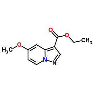 99446-53-4 ethyl 5-methoxypyrazolo[1,5-a]pyridine-3-carboxylate