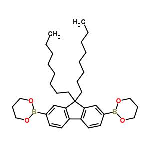 317802-08-7 2-[7-(1,3,2-dioxaborinan-2-yl)-9,9-dioctyl-fluoren-2-yl]-1,3,2-dioxaborinane