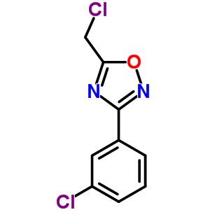 51802-78-9 5-(chloromethyl)-3-(3-chlorophenyl)-1,2,4-oxadiazole