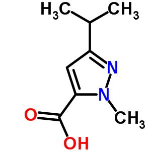 78208-73-8 1-methyl-3-(1-methylethyl)-1H-pyrazole-5-carboxylic acid