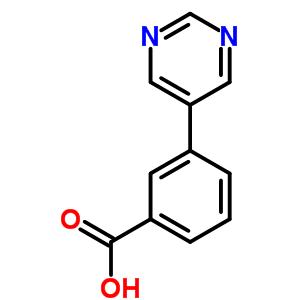 3-pyrimidin-5-ylbenzoic acid