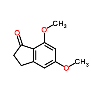 5,7-dimethoxy-2,3-dihydro-1H-inden-1-one