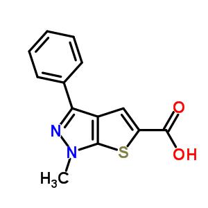 25252-47-5 1-methyl-3-phenyl-1H-thieno[2,3-c]pyrazole-5-carboxylic acid