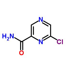 6-chloropyrazine-2-carboxamide