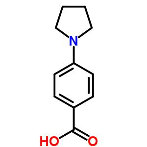 4-pyrrolidin-1-ylbenzoic acid