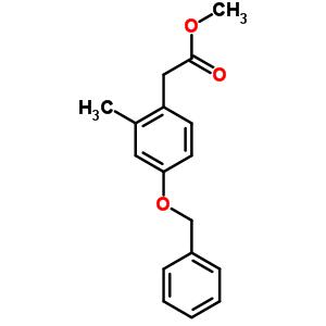 methyl [4-(benzyloxy)-2-methylphenyl]acetate