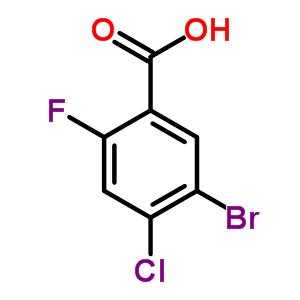 289038-22-8 5-bromo-4-chloro-2-fluorobenzoic acid