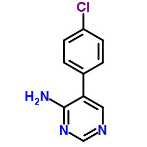 5-(4-chlorophenyl)pyrimidin-4-amine