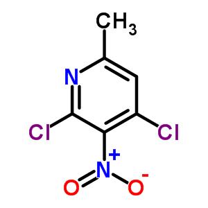 2,4-dichloro-6-methyl-3-nitropyridine
