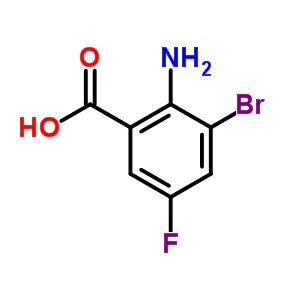 259269-84-6 2-Amino-3-bromo-5-fluorobenzoic acid