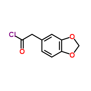 1,3-benzodioxol-5-ylacetyl chloride