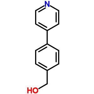 (4-pyridin-4-ylphenyl)methanol