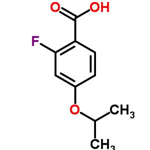 2-fluoro-4-(1-methylethoxy)benzoic acid
