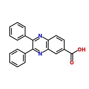 2,3-diphenylquinoxaline-6-carboxylic acid