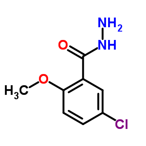 5-chloro-2-methoxybenzohydrazide [33977-11-6]