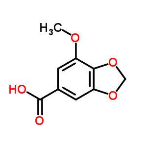 526-34-1 7-methoxy-1,3-benzodioxole-5-carboxylic acid