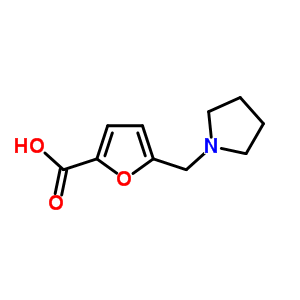 5-(pyrrolidin-1-ylmethyl)furan-2-carboxylic acid