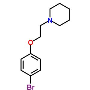 1-[2-(4-bromophenoxy)ethyl]piperidine [836-58-8]