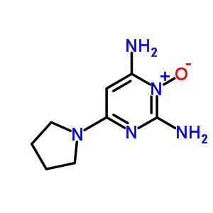 55921-65-8 6-(pyrrolidin-1-yl)pyrimidine-2,4-diamine 3-oxide