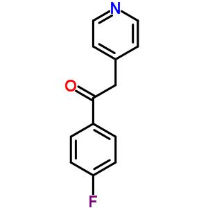 1-(4-fluorophenyl)-2-pyridin-4-ylethanone [6576-05-2]