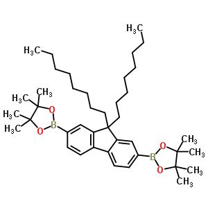 196207-58-6 2,2'-(9,9-dioctyl-9H-fluorene-2,7-diyl)bis(4,4,5,5-tetramethyl-1,3,2-dioxaborolane)