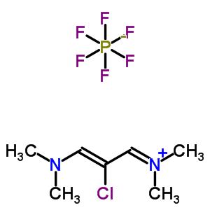 N-[(2Z)-2-chloro-3-(dimethylamino)prop-2-en-1-ylidene]-N-methylmethanaminium hexafluorophosphate