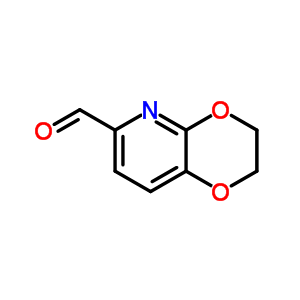 2,3-dihydro[1,4]dioxino[2,3-b]pyridine-6-carbaldehyde