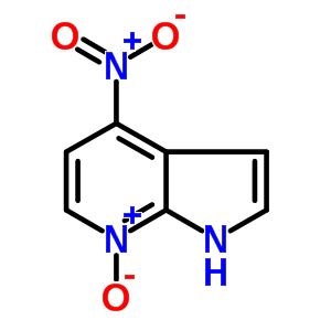 4-nitro-1H-pyrrolo[2,3-b]pyridine 7-oxide