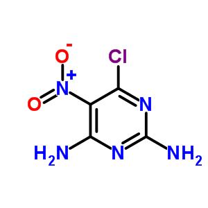 6-chloro-5-nitropyrimidine-2,4-diamine
