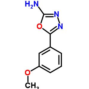 5-(3-methoxyphenyl)-1,3,4-oxadiazol-2-amine