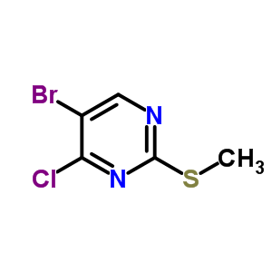 63810-78-6 5-bromo-4-chloro-2-(methylsulfanyl)pyrimidine