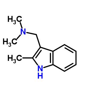 N,N-dimethyl-1-(2-methyl-1H-indol-3-yl)methanamine